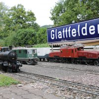 SBB Krokodil, Re 4/4 und C 4/5 in Glattfelden