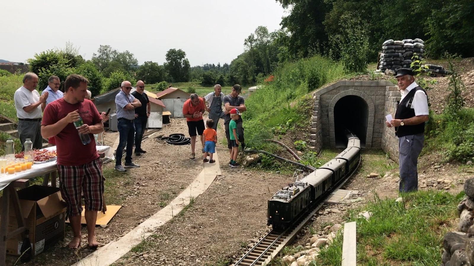 Einweihung Tunnel