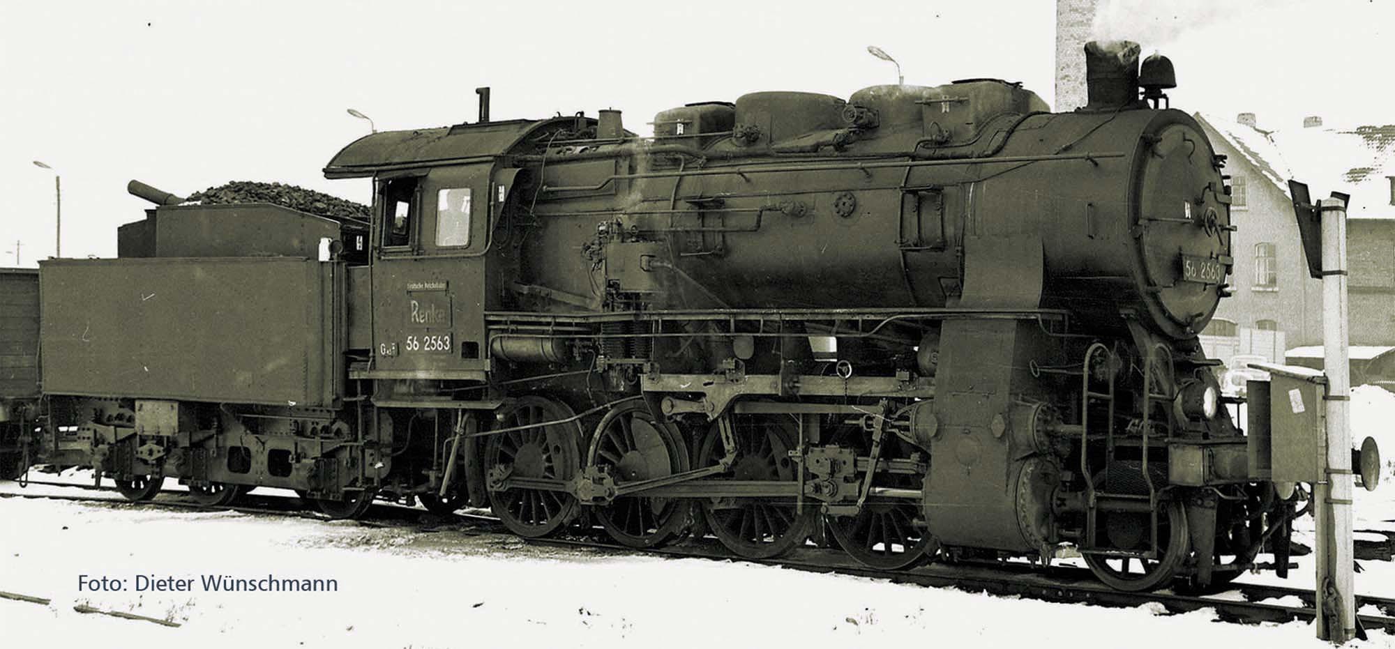 Dampflok BR56