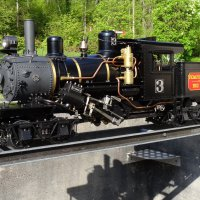 Climax Steam Engine