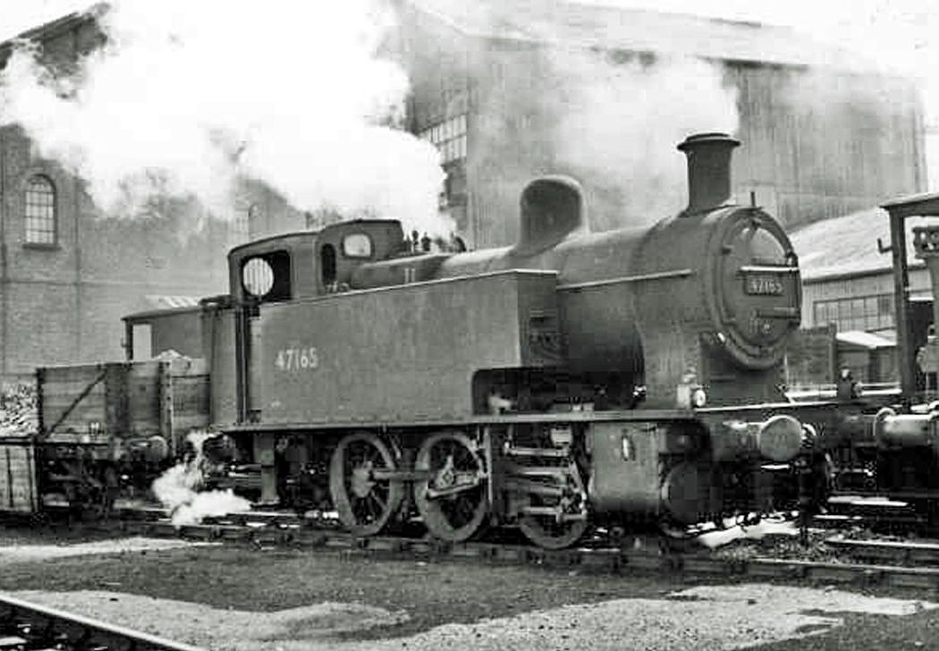 """L.M.S. 2F (Fowler) 0-6-0 T """"Dock Tank"""""""