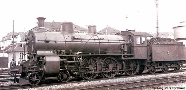 SBB A 3/5 Serie 600