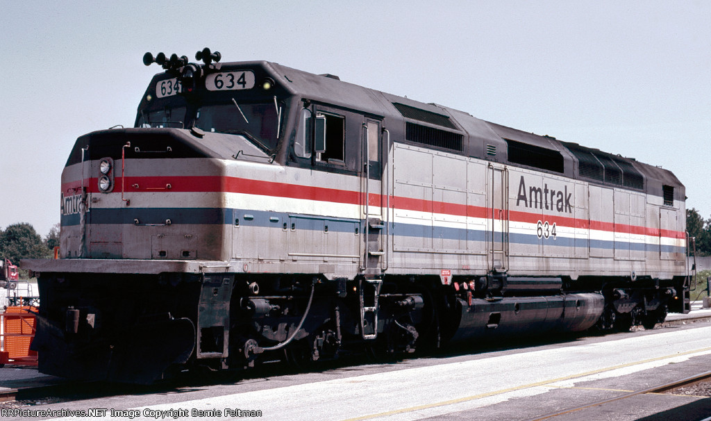 Amtrak SDP40F 634