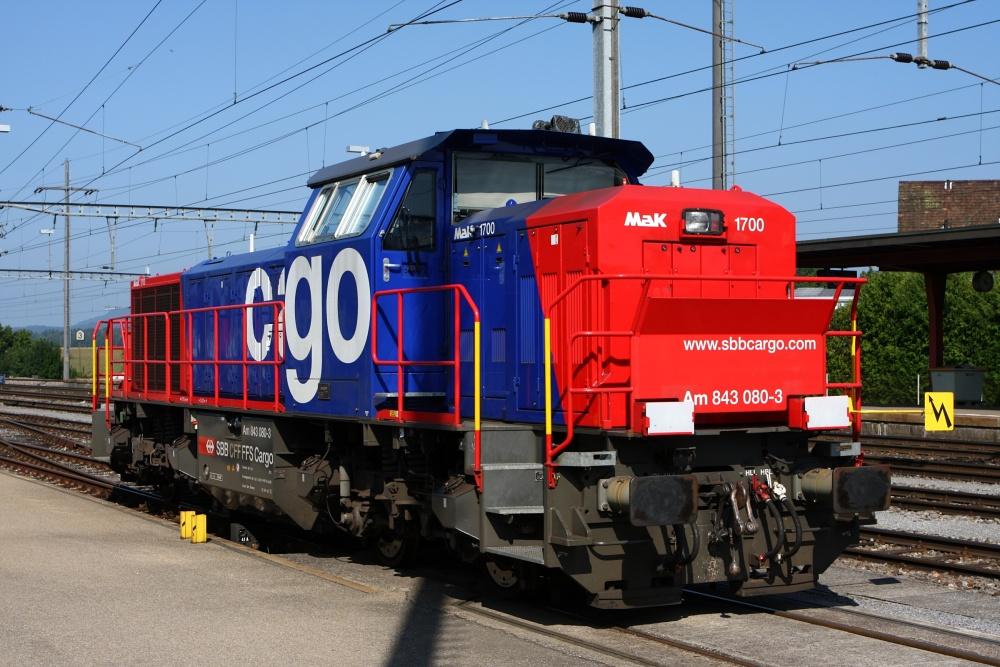 Vorbild der SBB Cargo Am 843 080