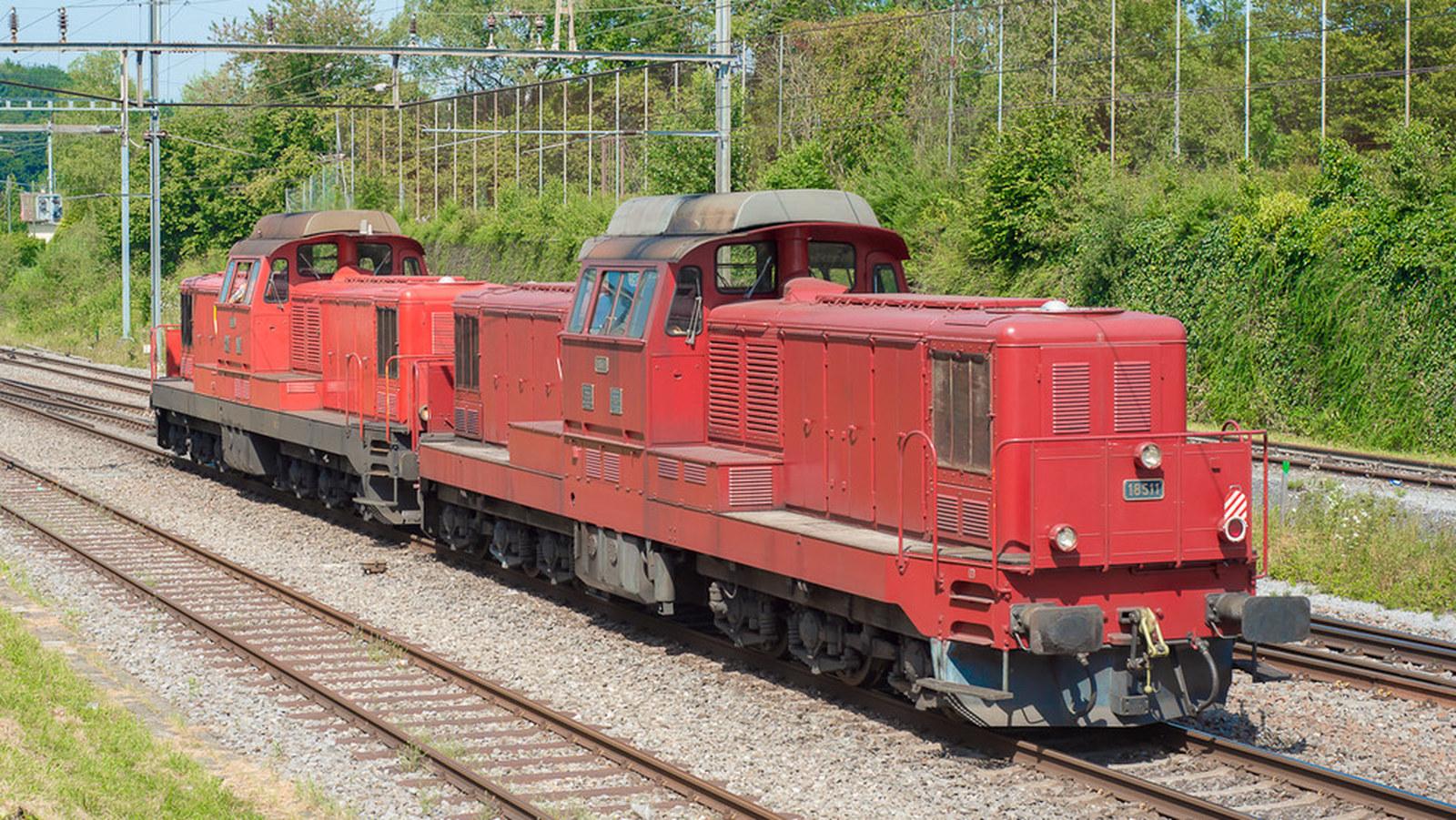 SBB Bm 6/6 Diesellok