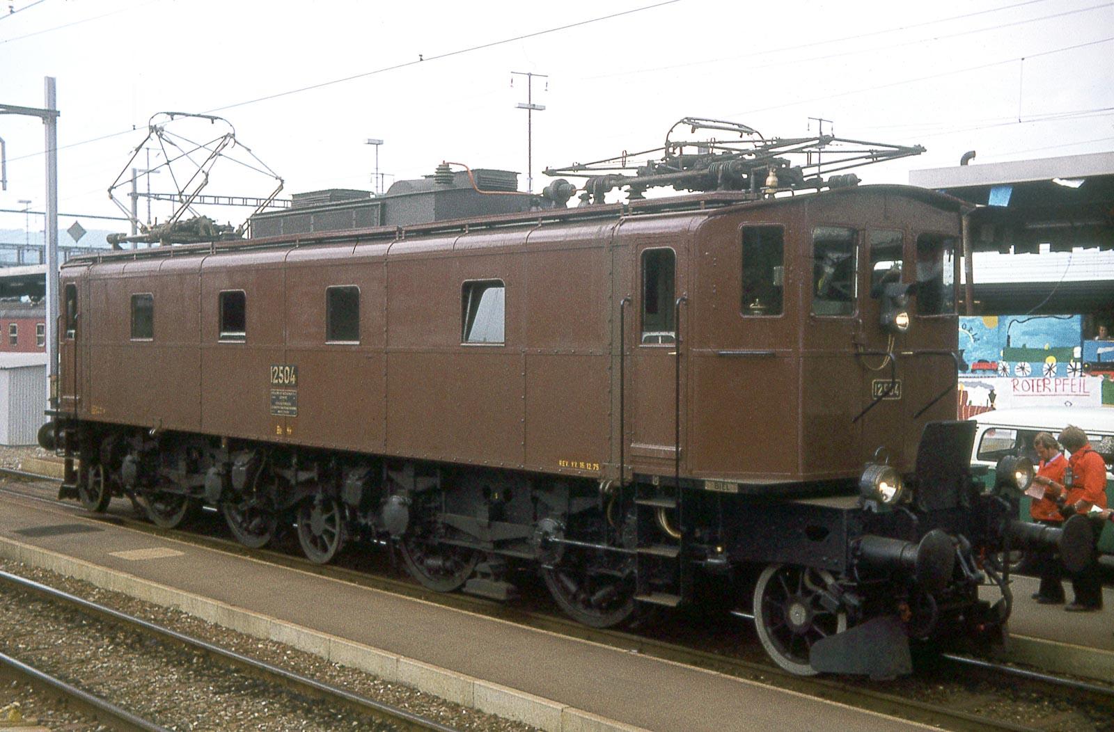 Vorbild der SBB Be 4/7 12504